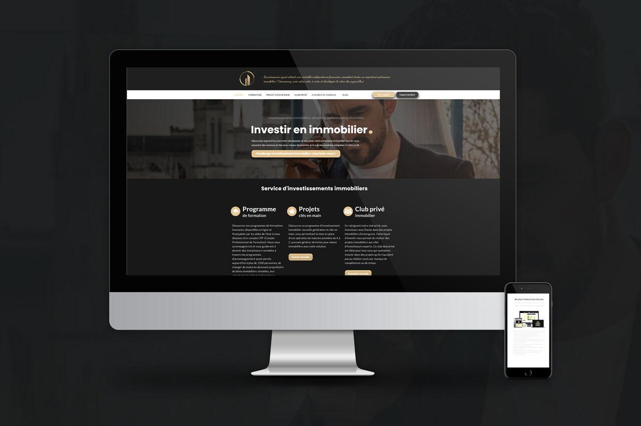 Création site daviddevila