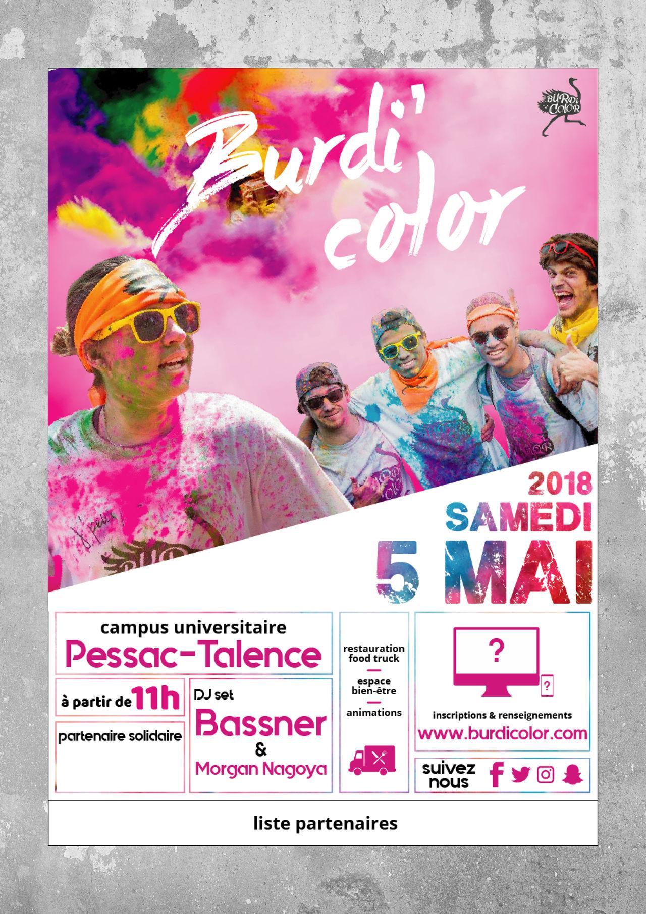Affiche Burdi Color