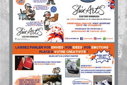 Flyer Sleix Arts