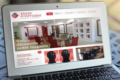 Site Web Envie d'Optique