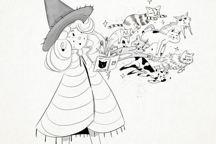 The cats witch