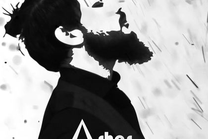 Cover EP Ashes by Alminia