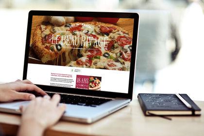 Site vitrine pizzeria