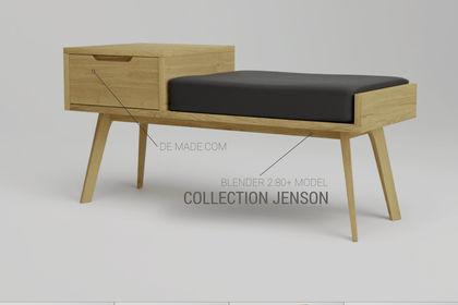 Modélisation collection Jenson