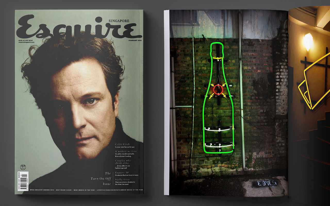 Esquire Magazine - Lights Out