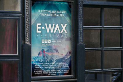 Affiche E-wax