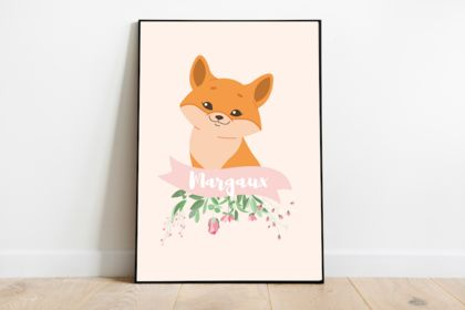 Illustration affiche animal