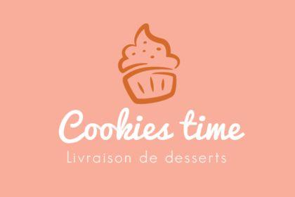 Identité visuelle Cookies Time