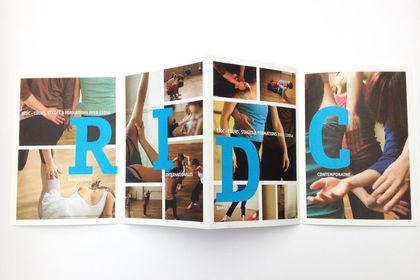 Création d'un dépliant et des photos - RIDC