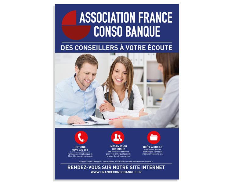 Création d'une affiche pour une association