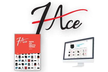 Création d'un logo - 7ace - Graphiste