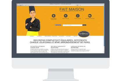 Création d'un site web - Fait-Maison - Graphiste