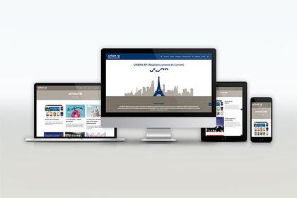 Création d'un site internet pour l'agence Urban RP