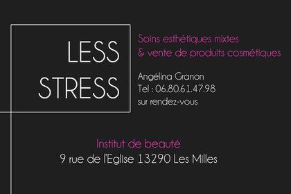 Carte de fidélité - LESS STRESS