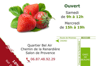 Flyer GAEC de BEAUME