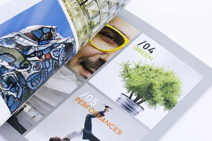 Intérieur brochure