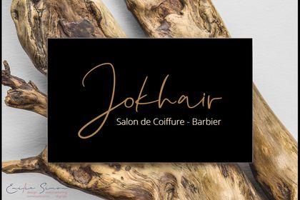 Identité visuelle d'un salon de coiffure