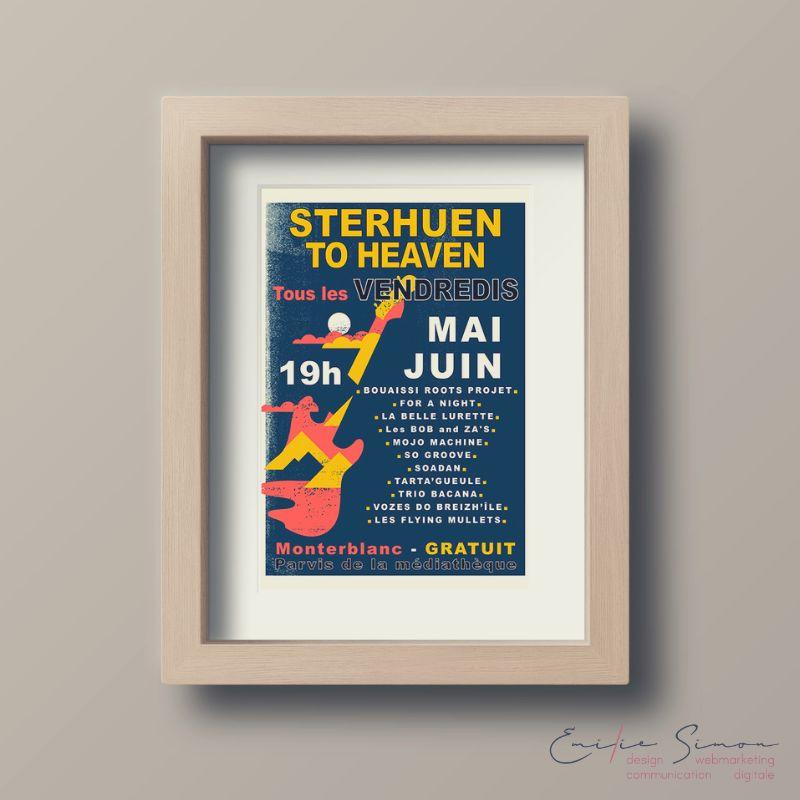 Affiche évènement - Concert