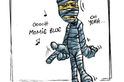 MOMIE BLUE