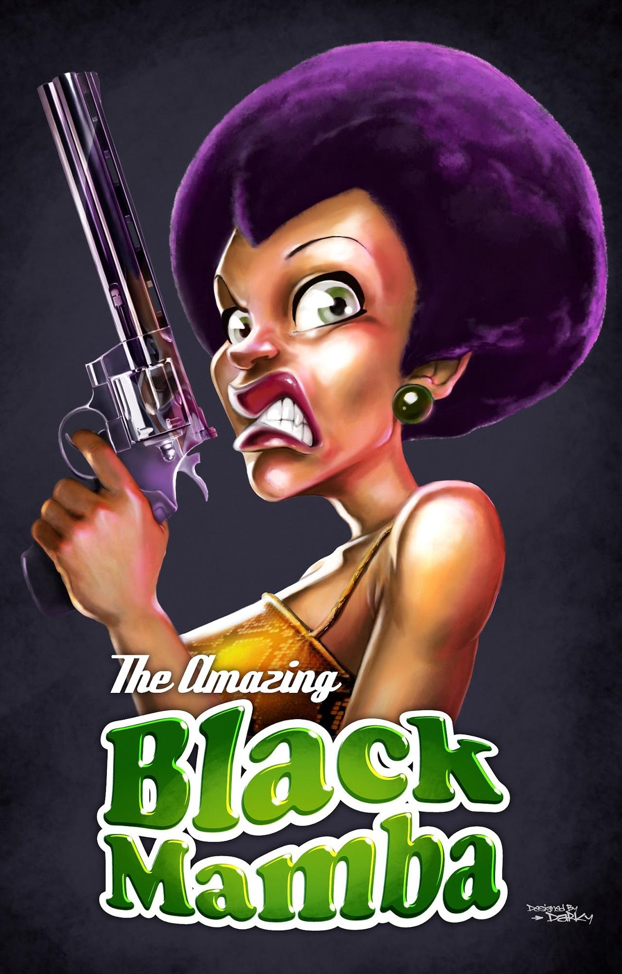 Affiche Black Mamba !