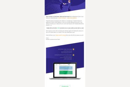 Réalisation d'un layout pour mailing