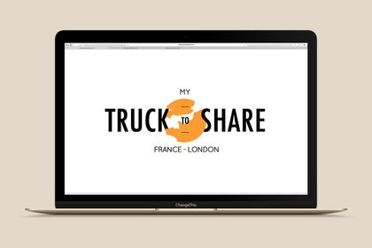 Réalisation du logo My Truck To Share