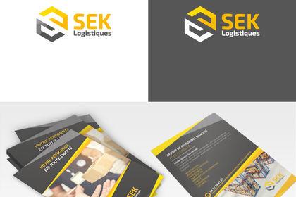 Logo plaquette SEK Logistique