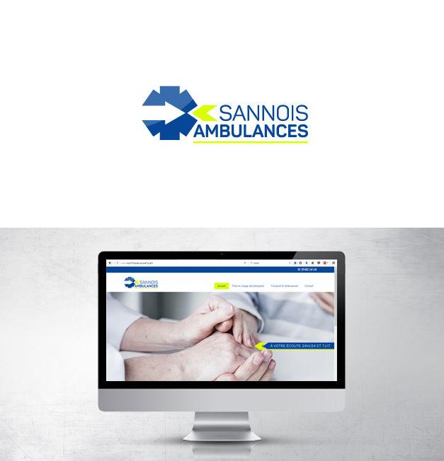 Logo site web sannois ambulances