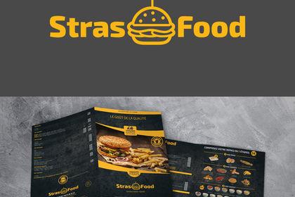 Logo plaqutte Strasfood
