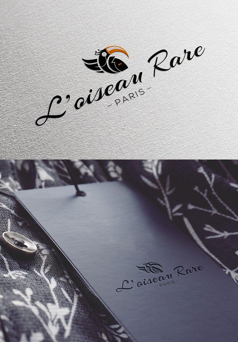 Logo marque de vêtement L'Oiseau Rare