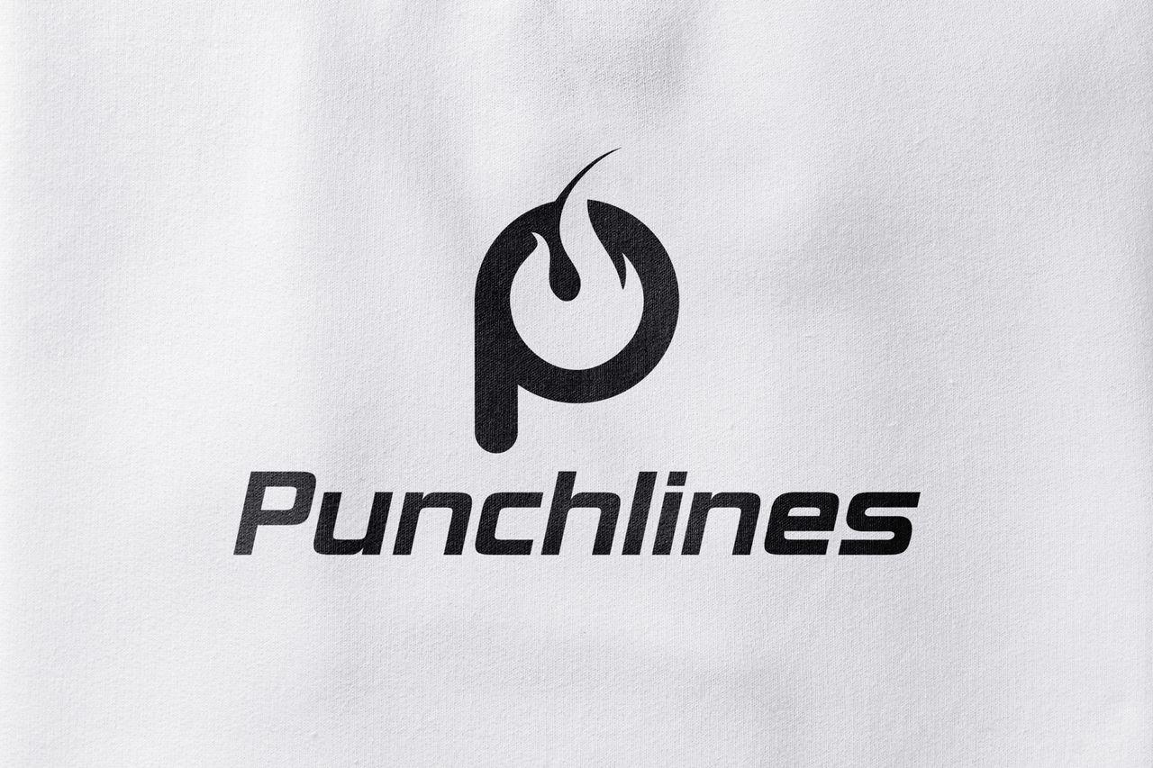 Logo marque vétement Punchlines