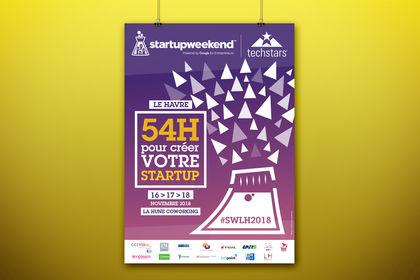 Affiche - Startup Weekend