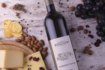 Étiquette de vin