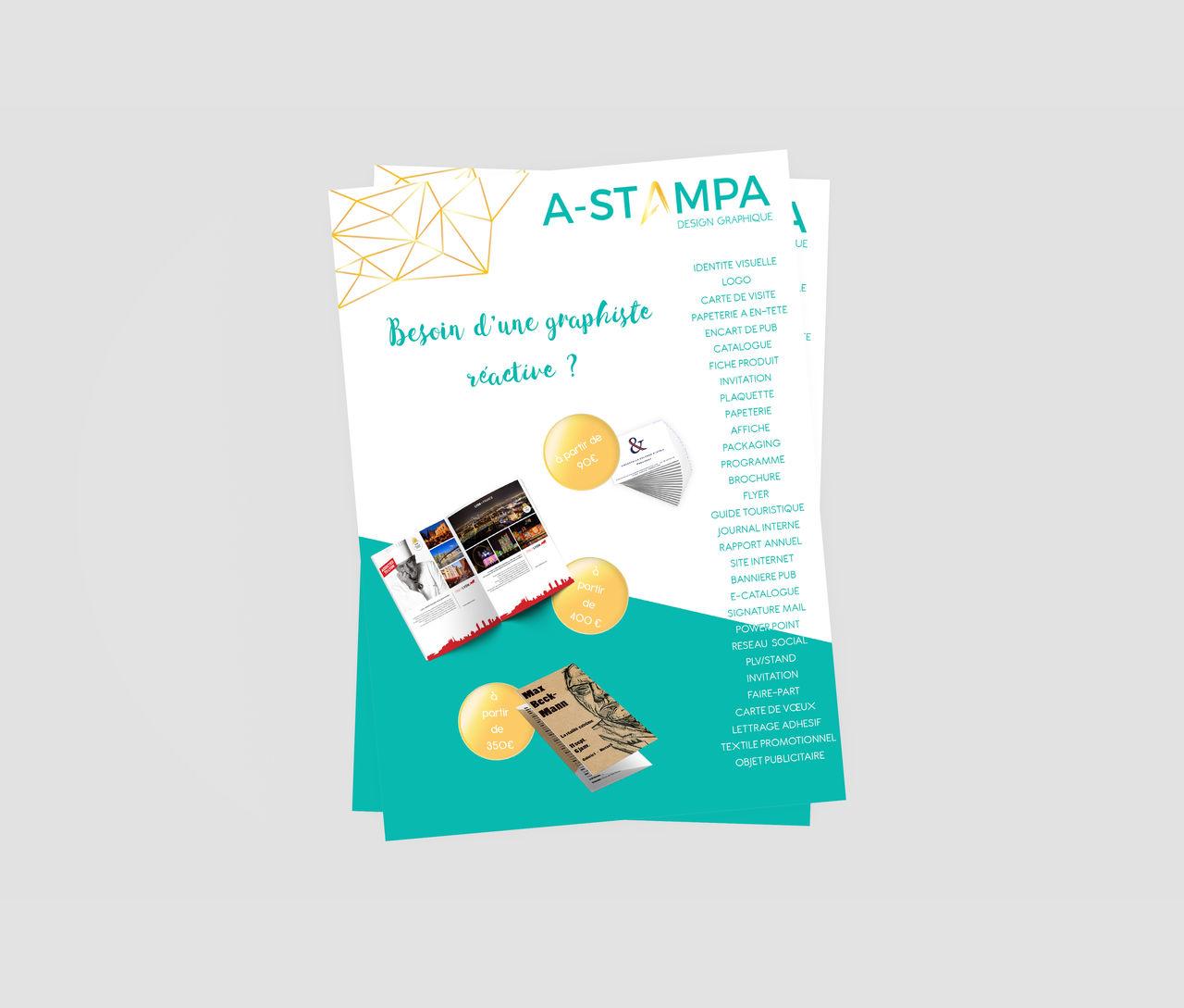 [ FLYERS ] Création de flyers plaquette brochure