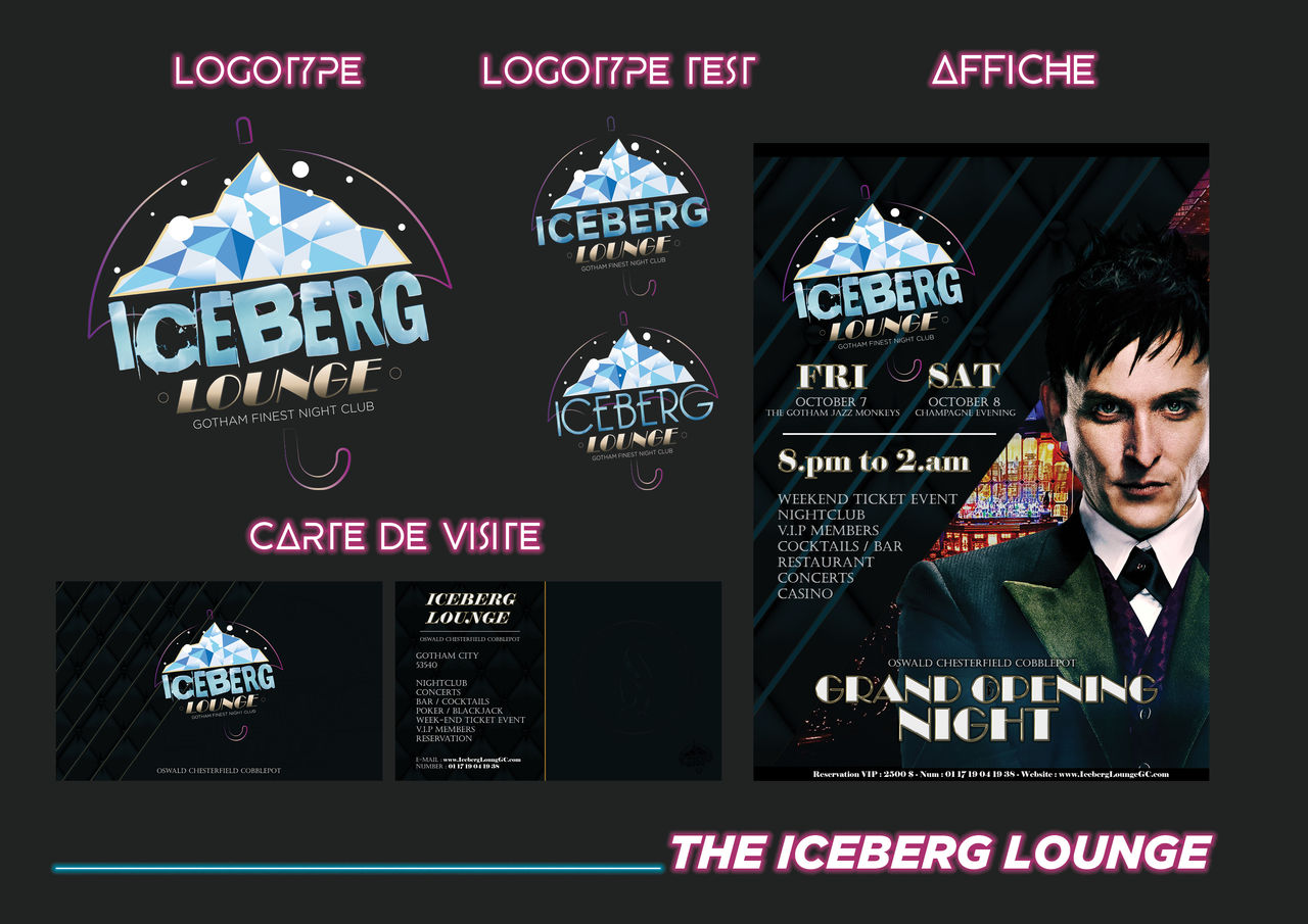 Planche #3 : The Iceberg Lounge