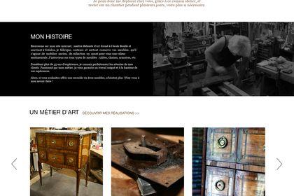 Site internet Gilles Rossignol