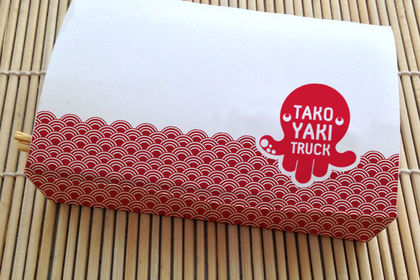 Packaging takoyaki