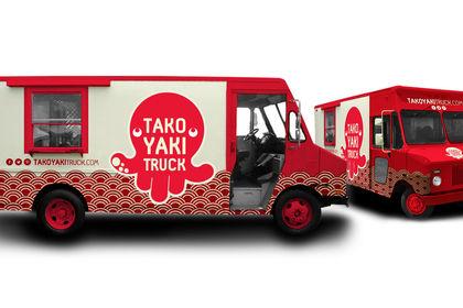 Customisation camion takoyaki