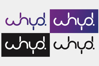 Déclinaison logo Whyd