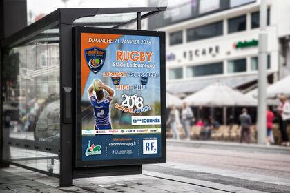 Affiche de match - CA Lormont HG