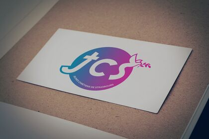 Logo - Jeunes chrétiens de Strasbourg