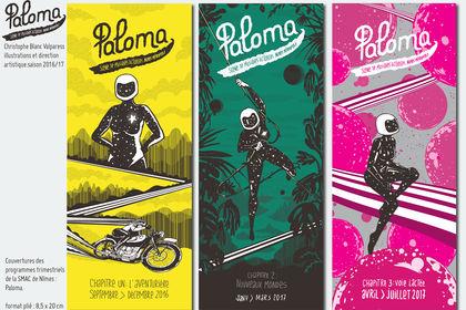 Couvertures programmes Paloma 2016 /2017