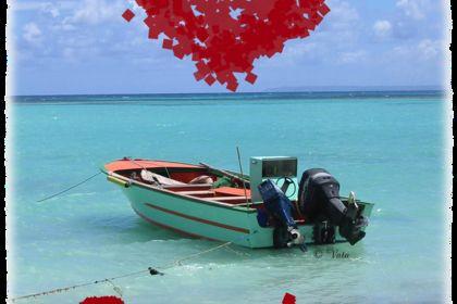 Photo d'un bateau en Guadeloupe, revue