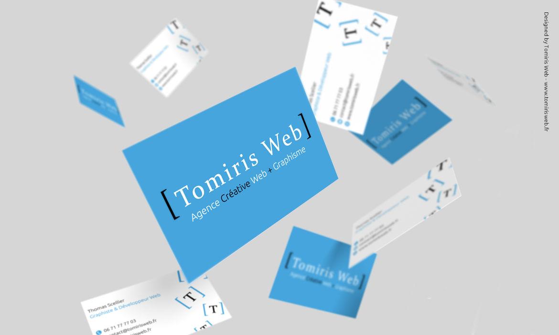 Cartes de visite Tomiris Web