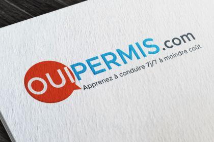 Réalisation du logo de l'agence OUIPERMIS