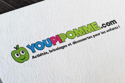 Réalisation du logo de YOUPIPOMME