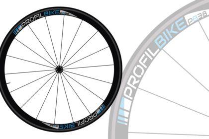 Création du design des roues de PROFILBIKE