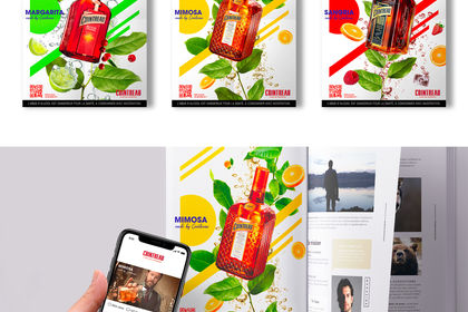Cointreau - Print Campaign and Digital Activation