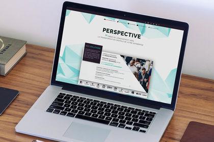 Création de l'identité graphique d'une agence web