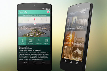 Site mobile tourisme